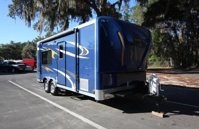 2014 Forest River Work and Play 18EC Toy Hauler Travel Trailer RV