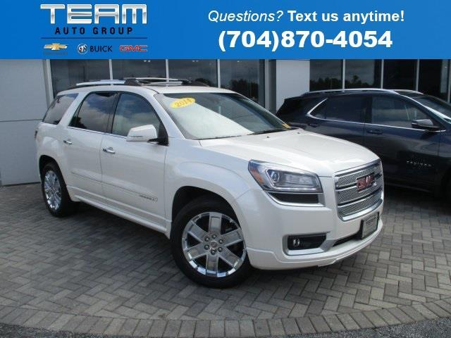 2014 gmc acadia denali awd denali 4dr suv for sale in salisbury north carolina classified. Black Bedroom Furniture Sets. Home Design Ideas