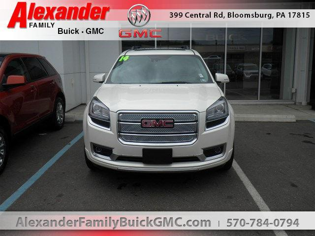 2014 gmc acadia denali awd denali 4dr suv for sale in almedia pennsylvania classified. Black Bedroom Furniture Sets. Home Design Ideas
