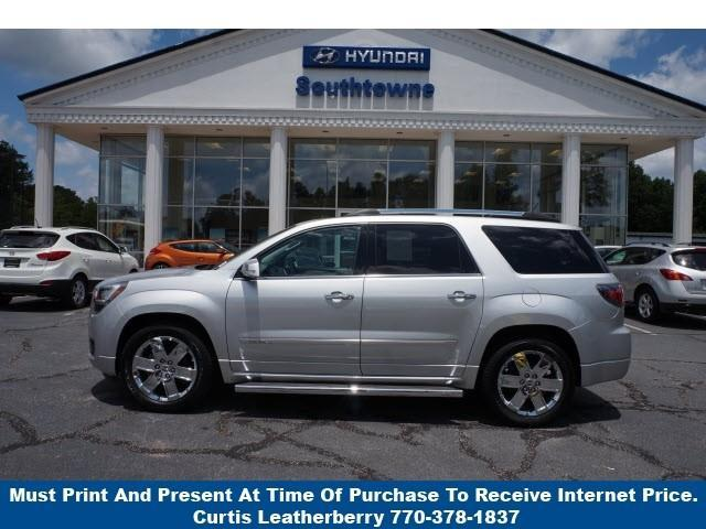 2014 gmc acadia denali denali 4dr suv for sale in newnan georgia classified. Black Bedroom Furniture Sets. Home Design Ideas