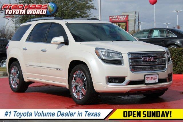 2014 gmc acadia denali denali 4dr suv for sale in rayford texas classified. Black Bedroom Furniture Sets. Home Design Ideas