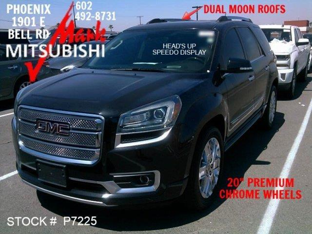 2014 gmc acadia denali denali 4dr suv for sale in phoenix arizona classified. Black Bedroom Furniture Sets. Home Design Ideas