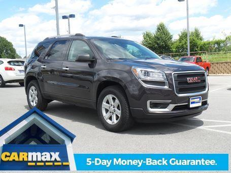 used 2014 gmc acadia for sale carmax. Black Bedroom Furniture Sets. Home Design Ideas