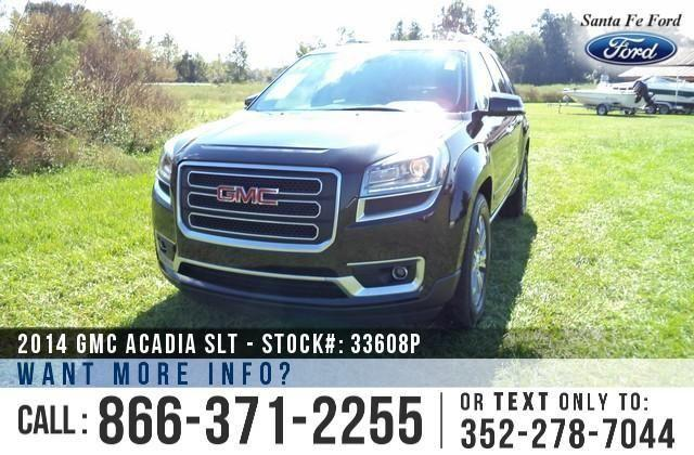 2014 Gmc Acadia SLT - 18K Miles - On-site Financing!