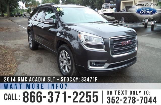2014 Gmc Acadia SLT - 23K Miles - On-site Financing!