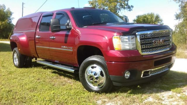 2014 gmc denali 4 door 3500 4x4 dually 6 6l diesel auto every option for sale in bayonet point. Black Bedroom Furniture Sets. Home Design Ideas