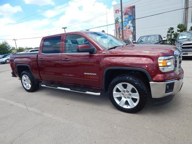2014 gmc sierra 1500 sle 4x4 sle 4dr crew cab 5 8 ft sb for sale in norman oklahoma classified. Black Bedroom Furniture Sets. Home Design Ideas