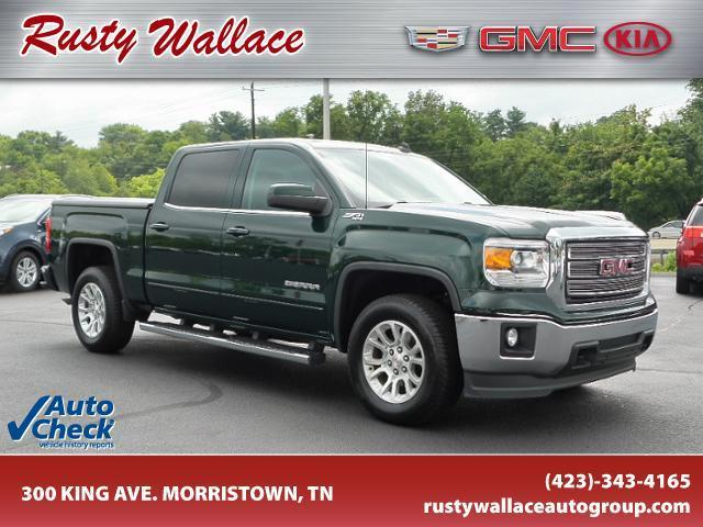 2014 gmc sierra 1500 sle 4x4 sle 4dr crew cab 5 8 ft sb for sale in morristown tennessee. Black Bedroom Furniture Sets. Home Design Ideas
