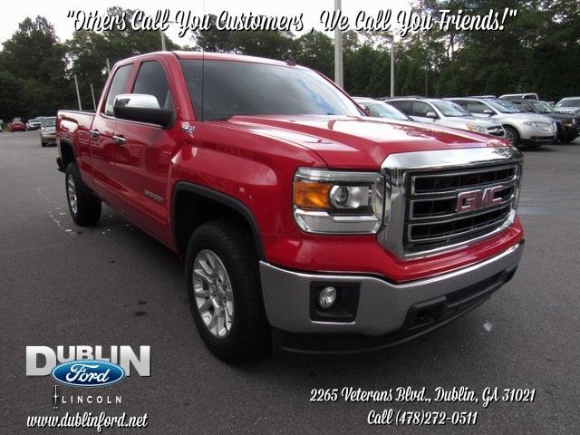 2014 GMC Sierra 1500 SLE 4x4 SLE 4dr Double Cab 6.5 ft.
