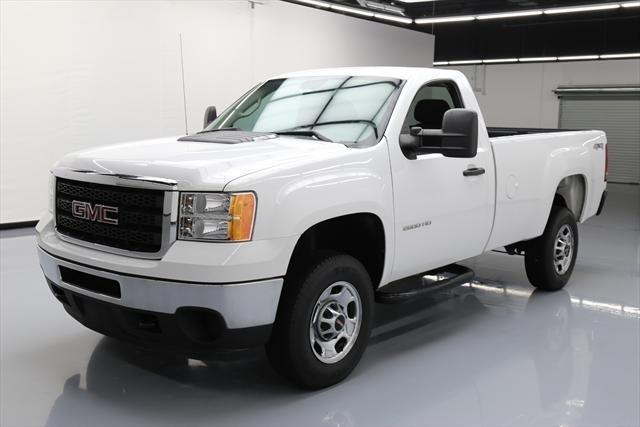 2014 gmc sierra 2500hd work truck 4x4 work truck 2dr regular cab lb for sale in dallas texas. Black Bedroom Furniture Sets. Home Design Ideas