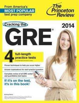 2014 GRE study guide by Princeton review - $5