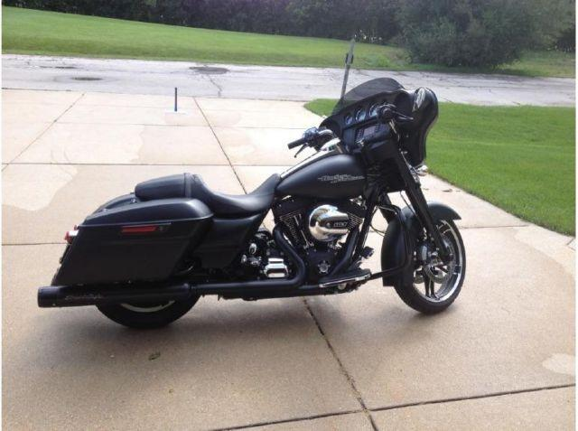 2014 harley davidson street glide touring rushmore edition all blacked for sale in milwaukee. Black Bedroom Furniture Sets. Home Design Ideas