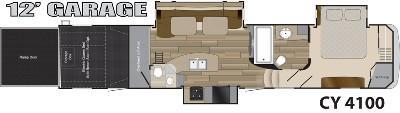 2014 heartland cyclone 4100 king for sale in ocala. Black Bedroom Furniture Sets. Home Design Ideas
