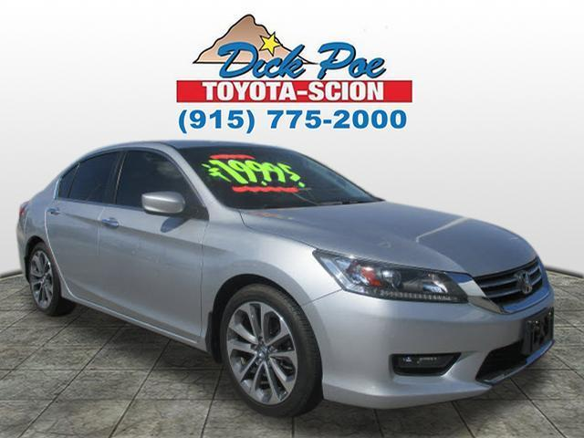 2014 honda accord sport sport 4dr sedan cvt for sale in el paso texas classified. Black Bedroom Furniture Sets. Home Design Ideas