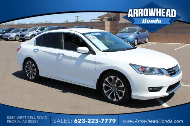 2014 honda accord sport sport 4dr sedan cvt for sale in peoria arizona classified. Black Bedroom Furniture Sets. Home Design Ideas