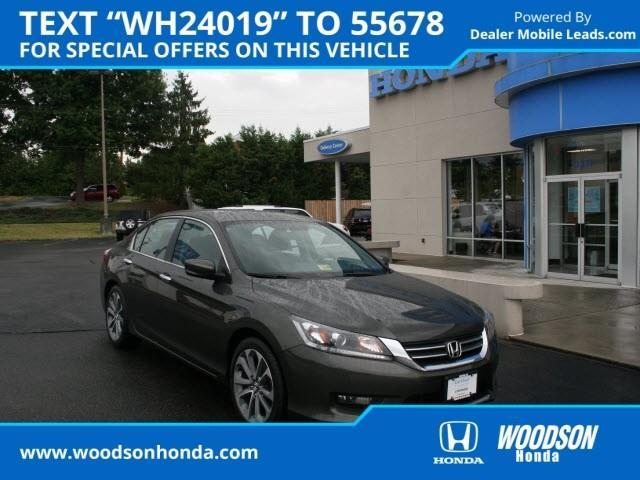 2014 Honda Accord Sport Sport 4dr Sedan CVT