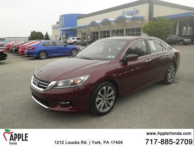 2014 honda accord sport sport 4dr sedan cvt for sale in york pennsylvania classified. Black Bedroom Furniture Sets. Home Design Ideas