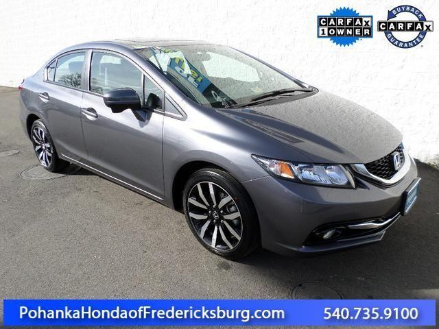 2014 honda civic 4d sedan ex l for sale in fredericksburg virginia classified. Black Bedroom Furniture Sets. Home Design Ideas