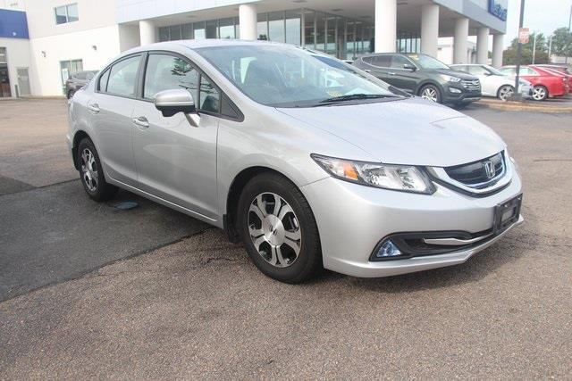 2014 Honda Civic Hybrid w/Leather Hybrid 4dr Sedan