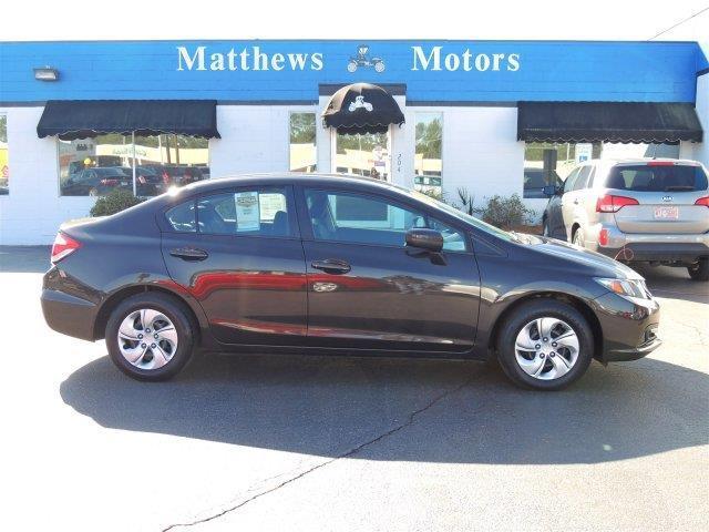 2014 honda civic lx lx 4dr sedan cvt for sale in goldsboro for Matthews motors goldsboro nc