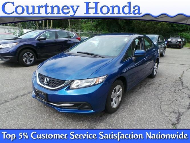 2014 honda civic lx lx 4dr sedan cvt for sale in milford for Honda milford ct
