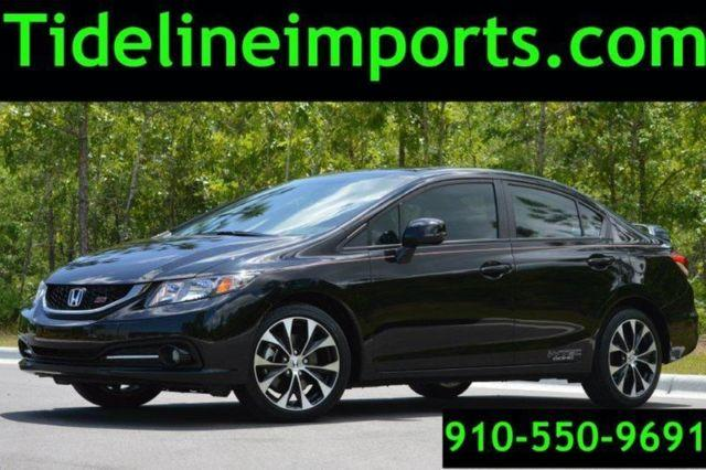 2014 honda civic si 6 speed spoiler michelin 39 s 5k miles for sale in wilmington north. Black Bedroom Furniture Sets. Home Design Ideas