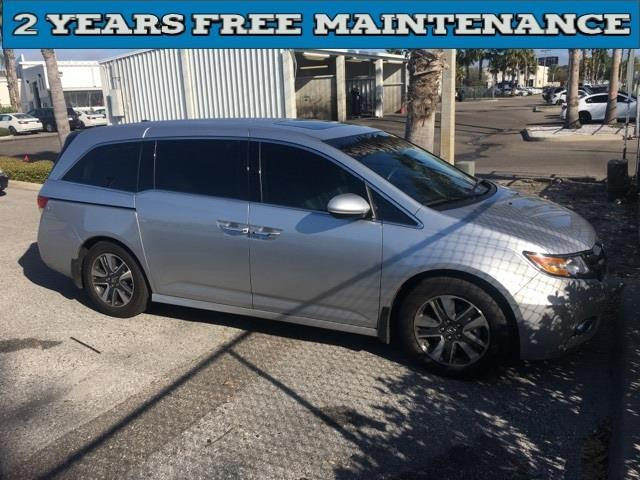 2014 honda odyssey touring touring 4dr mini van for sale in port richey florida classified. Black Bedroom Furniture Sets. Home Design Ideas