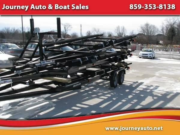 2014 Hustler Activity 22 or 24 tandem axle trailers -