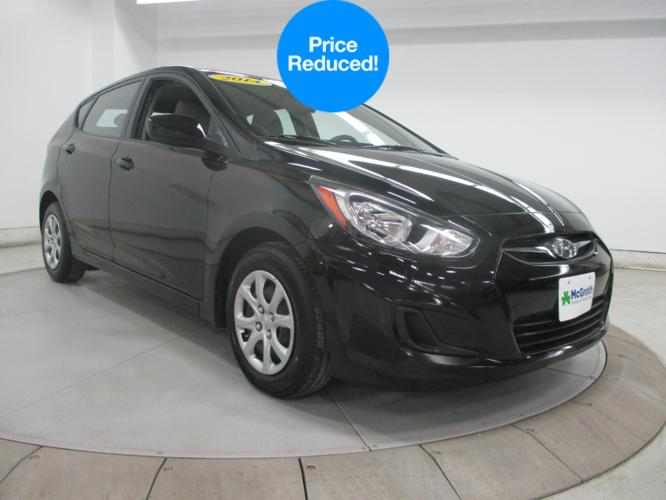 2014 hyundai accent gs gs 4dr hatchback for sale in dubuque iowa classified. Black Bedroom Furniture Sets. Home Design Ideas