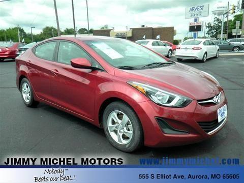 2014 HYUNDAI ELANTRA 4 DOOR SEDAN