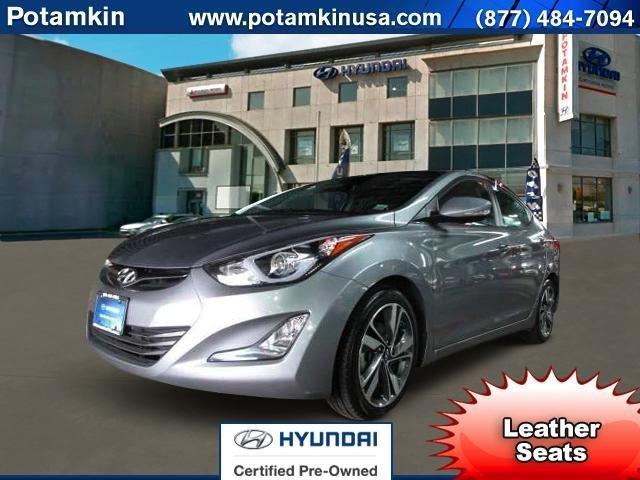 2014 Hyundai Elantra Limited Limited 4dr Sedan 6A
