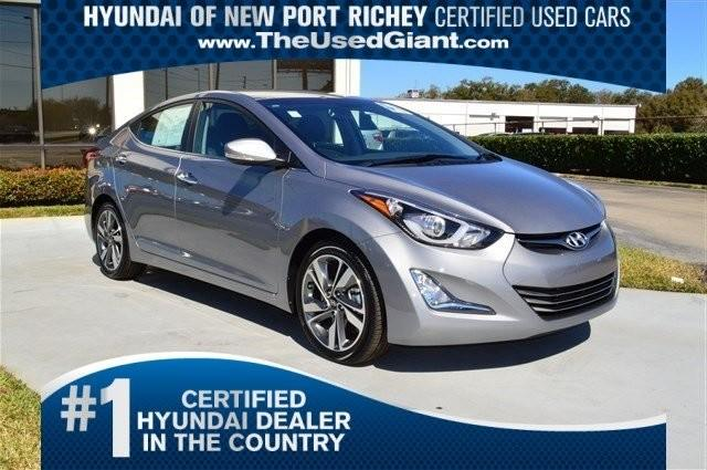 2014 hyundai elantra se 4dr sedan 6m for sale in new port richey florida classified. Black Bedroom Furniture Sets. Home Design Ideas