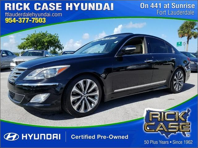 2014 Hyundai Genesis 5 0L R Spec 5 0L R Spec 4dr Sedan for