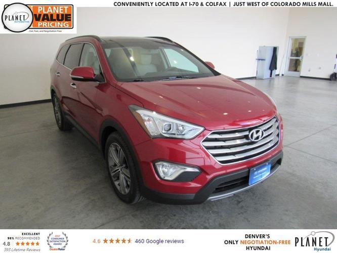 2014 Hyundai Santa Fe Gls Awd Gls 4dr Suv For Sale In