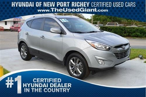 2014 hyundai tucson limited 4dr suv for sale in new port richey florida classified. Black Bedroom Furniture Sets. Home Design Ideas
