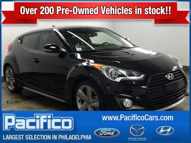 2014 Hyundai Veloster Turbo Base 3dr Coupe