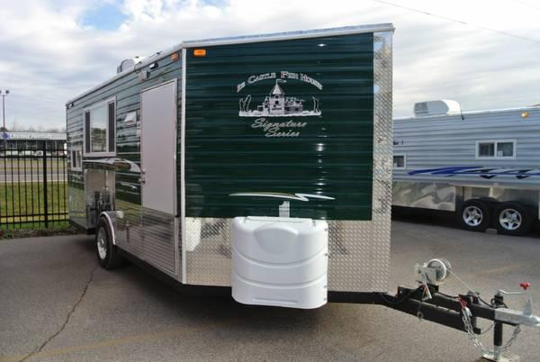 2014 ice fish houses signature series ice house for sale for Fish house trailer