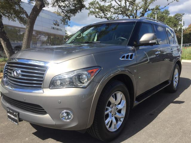 2014 infiniti qx80 base 4dr suv for sale in boerne texas classified. Black Bedroom Furniture Sets. Home Design Ideas