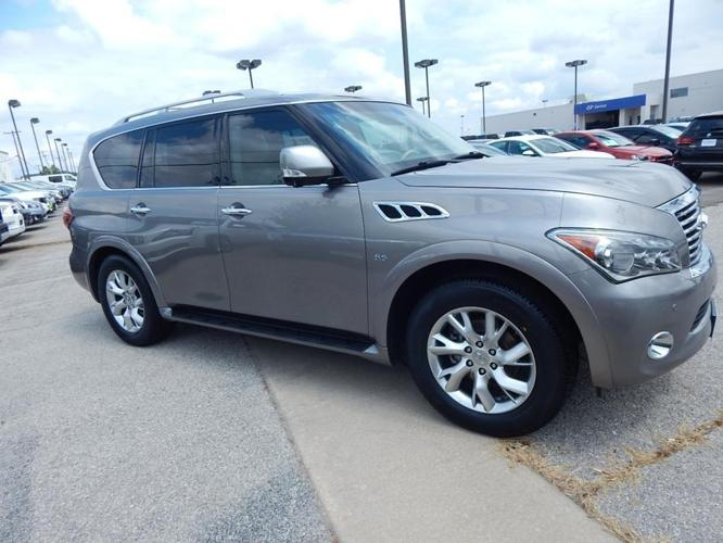 2014 infiniti qx80 base 4dr suv for sale in norman oklahoma classified. Black Bedroom Furniture Sets. Home Design Ideas