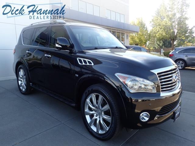 2014 infiniti qx80 base awd 4dr suv for sale in portland oregon classified. Black Bedroom Furniture Sets. Home Design Ideas