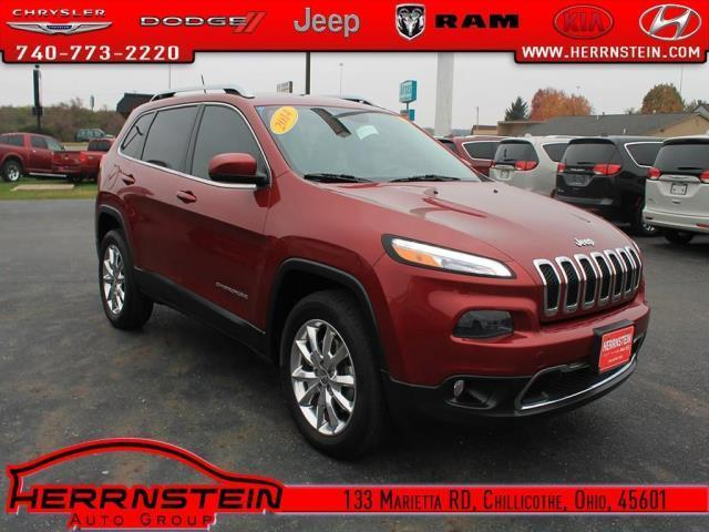 2014 jeep cherokee limited 4x4 limited 4dr suv for sale in chillicothe ohio classified. Black Bedroom Furniture Sets. Home Design Ideas