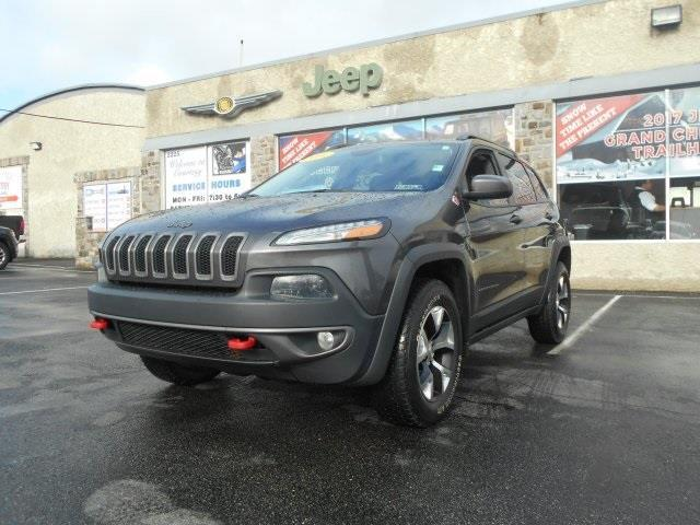 2014 jeep cherokee trailhawk 4x4 trailhawk 4dr suv for sale in coatesville pennsylvania. Black Bedroom Furniture Sets. Home Design Ideas