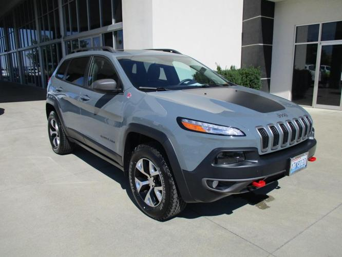 2014 jeep cherokee trailhawk 4x4 trailhawk 4dr suv for sale in liberty lake washington. Black Bedroom Furniture Sets. Home Design Ideas