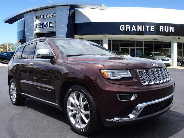 2014 jeep grand cherokee 4x4 summit 4dr suv for sale in glen riddle pennsylvania classified. Black Bedroom Furniture Sets. Home Design Ideas