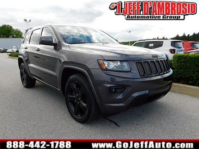 2014 jeep grand cherokee altitude 4x4 altitude 4dr suv for sale in downingtown pennsylvania. Black Bedroom Furniture Sets. Home Design Ideas