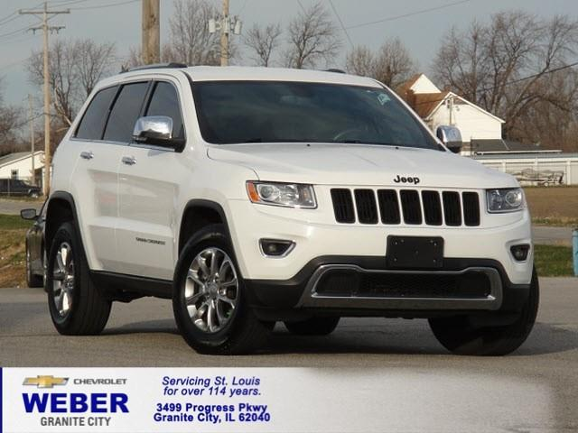 2014 jeep grand cherokee limited 4x4 limited 4dr suv for sale in granite city illinois. Black Bedroom Furniture Sets. Home Design Ideas