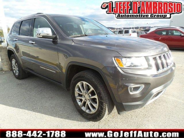 2014 jeep grand cherokee limited 4x4 limited 4dr suv for sale in downingtown pennsylvania. Black Bedroom Furniture Sets. Home Design Ideas