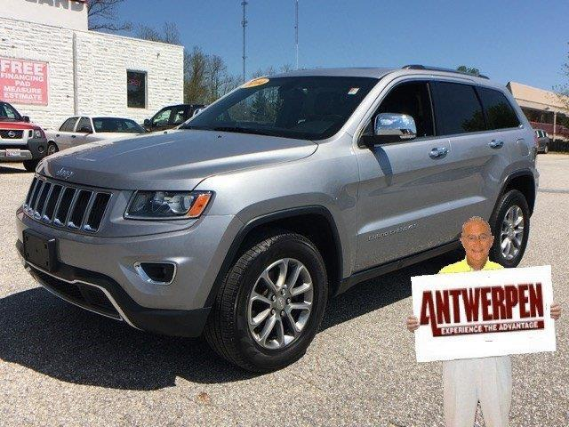 2014 jeep grand cherokee limited 4x4 limited 4dr suv for sale in baltimore maryland classified. Black Bedroom Furniture Sets. Home Design Ideas
