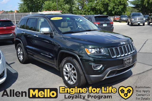 2014 jeep grand cherokee limited 4x4 limited 4dr suv for sale in nashua new hampshire. Black Bedroom Furniture Sets. Home Design Ideas