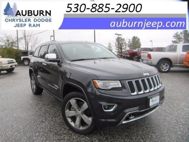 2014 jeep grand cherokee overland 4x4 overland 4dr suv for sale in auburn california classified. Black Bedroom Furniture Sets. Home Design Ideas